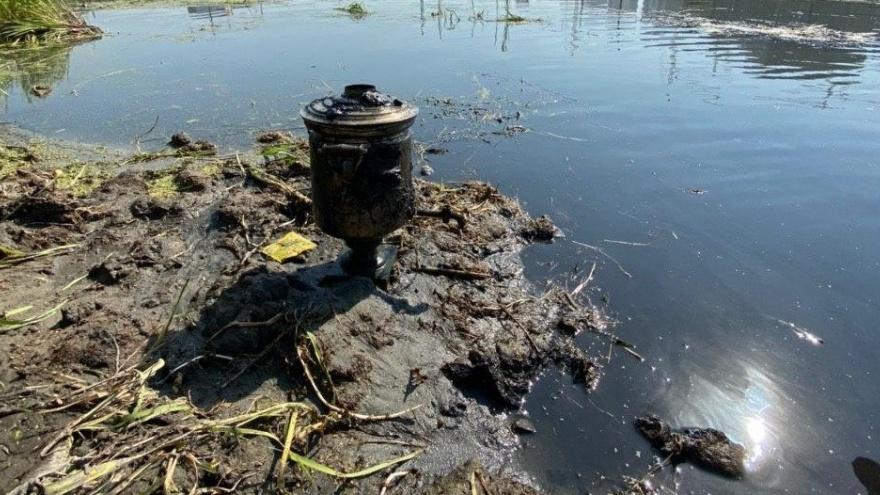 В реке Миасс в центре Челябинска нашли дореволюционный самовар