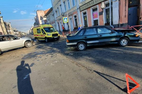 Авария случилась ранним утром, пока город ещё спал