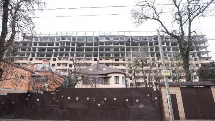 Администрация Ростова отказалась достраивать высотки возле старого автовокзала