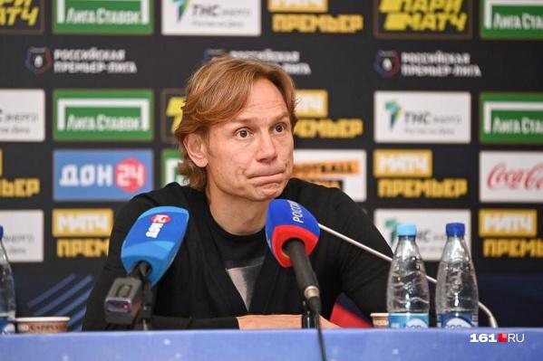 Валерий Карпин возмущен действиями РФС