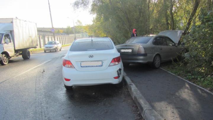 При столкновении двух автомобилей в Архангельске пострадал трехлетний ребенок