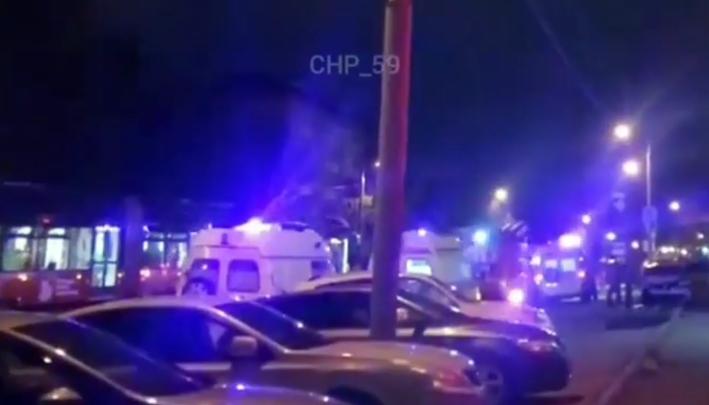 В Перми в ночной аварии пострадали четыре человека