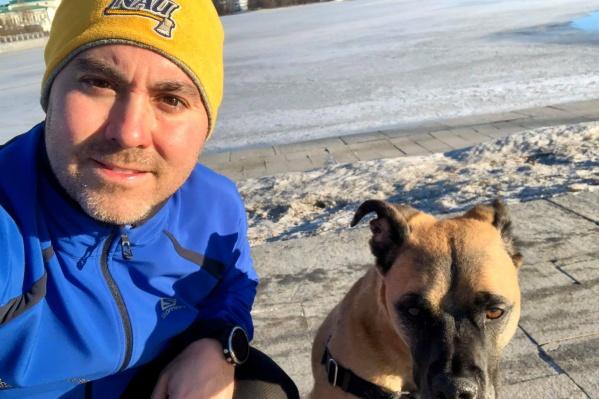 От многокилометровых пробежек с собакой из-за указа губернатора пришлось отказаться