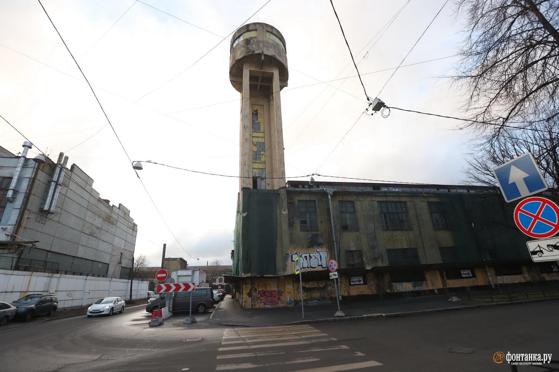 Водонапорная башняархитектора Чернихова