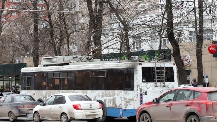 Четыре троллейбусных маршрута в Ростове восстановят к марту