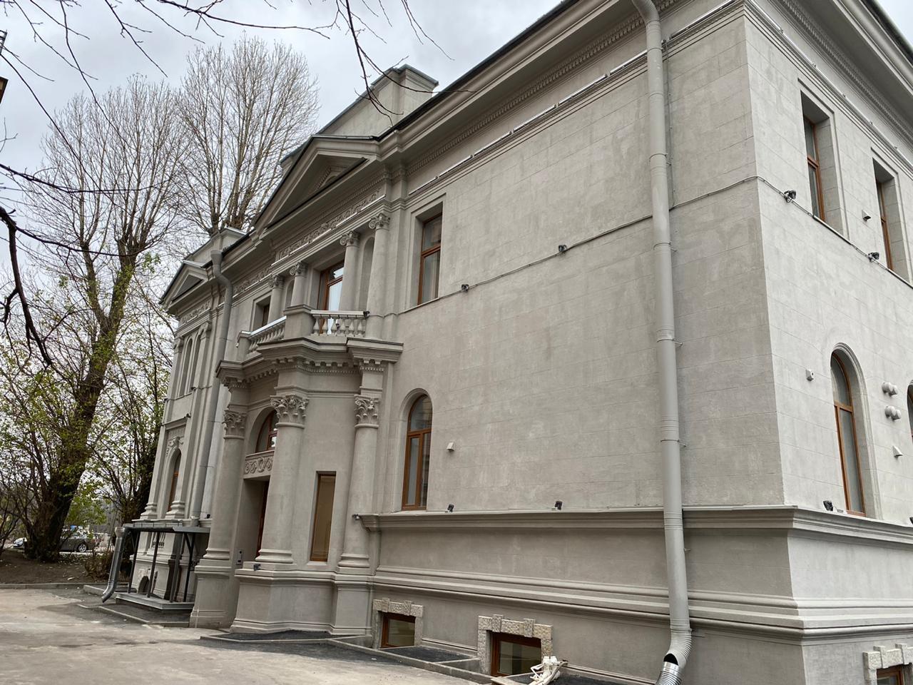 Здание после ремонта