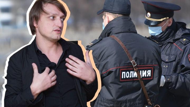Полиция вызвала тусовщика Словиковского на разговор из-за подпольной вечеринки