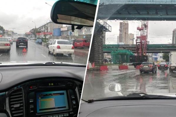 Из-за аварий и дорожных работ ситуация на дорогах становится только хуже