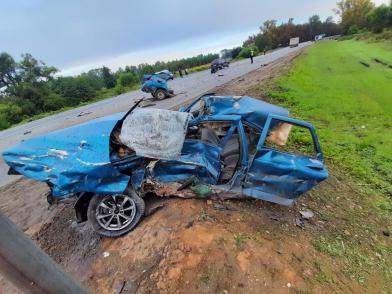 «Машину располовинило»: в страшном ДТП в Ярославской области погиб парень, четверо пострадали