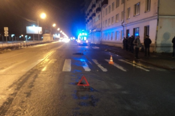 Водитель уехал с места происшествия, но затем сам заявился в полицию