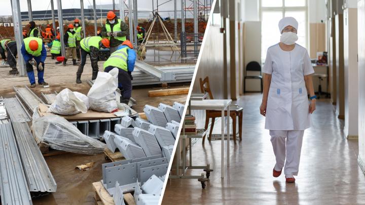 Потратили уже 1,8 миллиарда рублей: что происходит на стройплощадке инфекционной больницы в Уфе