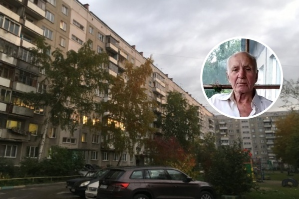 Пропавший Алексей Протопопов — худощавого телосложения, у него седые волосы, короткая стрижка и серые глаза