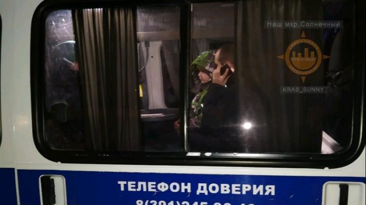 В Красноярске весь район за полчаса поднялся на поиски школьника. Он убежал от родителей