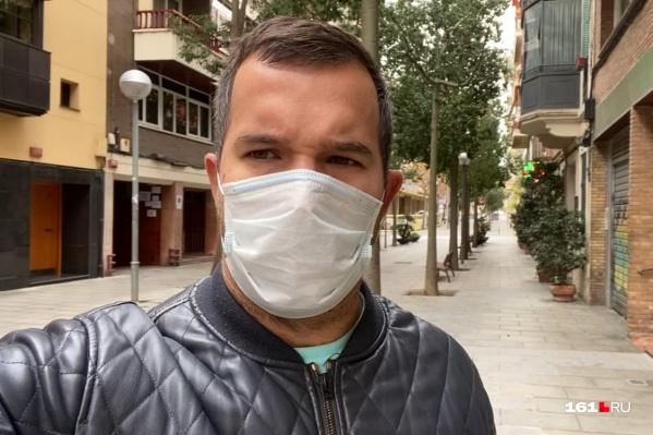 Репортер Николай Соколов работает в Испании — стране, гдекрайне тяжело переживают пандемию коронавируса
