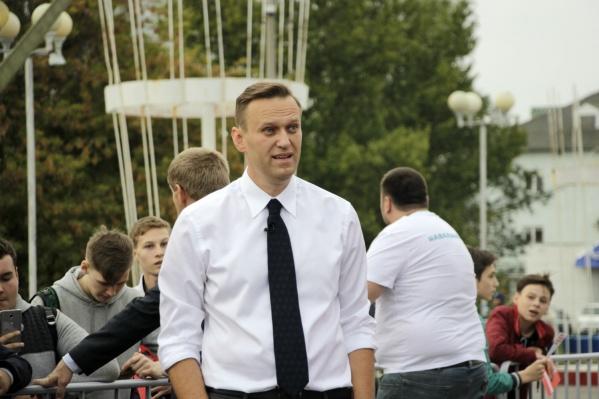 Алексея Навального выписали из клиники Charité чуть больше недели назад