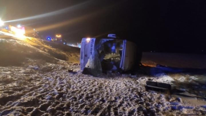 «Это 100% не вина водителя»: очевидцы рассказали о состоянии трассы под Рязанью в момент автокатастрофы с автобусом