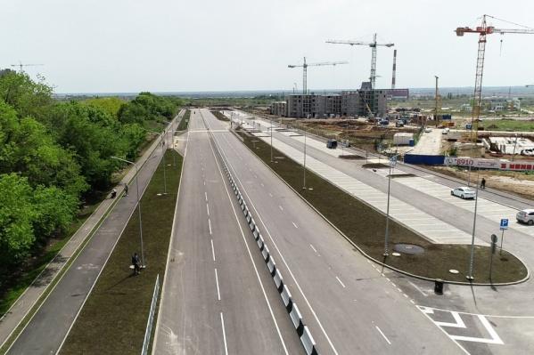 Первой ласточкой стала дорога на пр. Солженицына