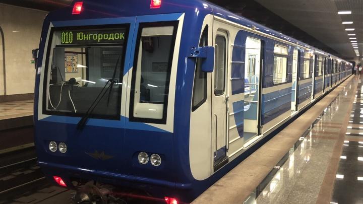 «Впервые за 32 года»: в Самаре выпустили в рейс новый поезд метро
