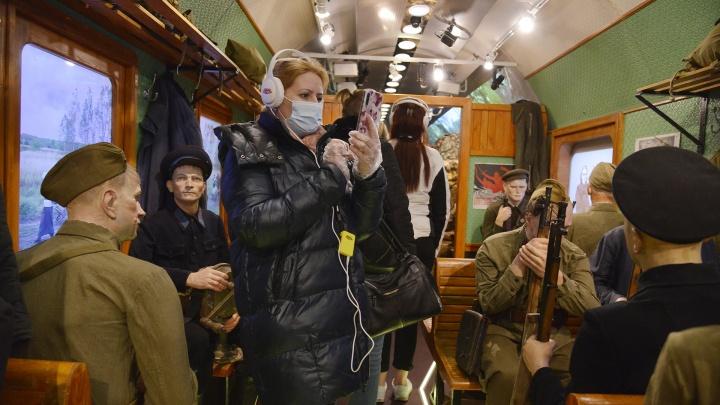 В Архангельск прибыл первый рейс «Поезда Победы»: загляните в состав-музей вместе с 29.RU