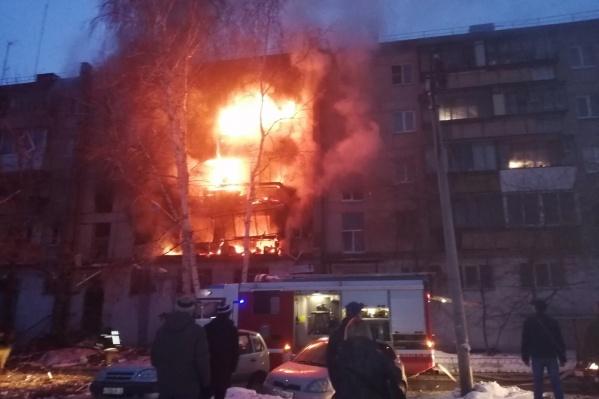 Взрыв на Доменщиков, 19 слышали жители разных районов города
