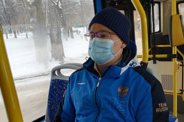 Андрей Панов провел рабочий день в Новокузнецке и прокатился в новых автобусах
