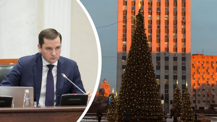 Власти Архангельской области сообщили, что обсуждают ограничения из-за COVID-19 в Новый год
