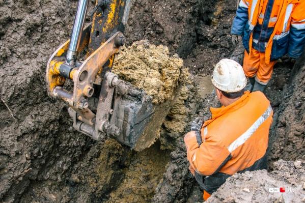 Работы на водоводе планируют закончить 24 июня