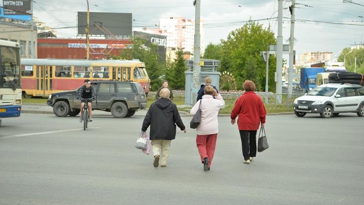 На Уралмаше убрали важный пешеходный переход: показываем, как теперь переходить улицу