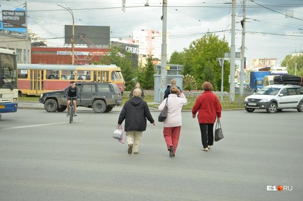 Сила привычки — никто не обращает внимания, что в этом месте больше нет пешеходного перехода