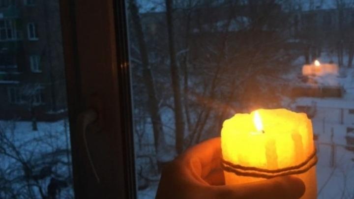 Из-за аварии без света остались жители двух районов Красноярска