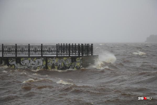 Порывы ветра будут достигать 20 метров в секунду