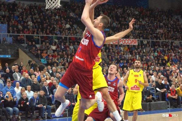 Сборная России уже играла в Перми со сборной Македонии