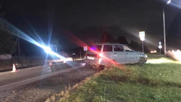 В Соликамске водитель легкового автомобиля насмерть сбил велосипедиста