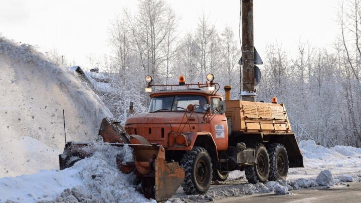 В день единого протеста на другой площадке Архангельска решили показать автомощь ЖКХ