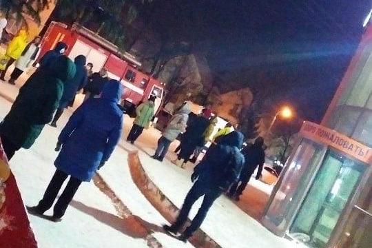 В Уфе 1500 человек эвакуировали на улицу из торгового центра «Меркурий»
