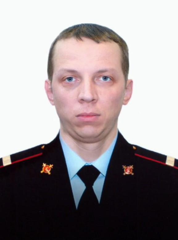 Старший сержант полиции Андрей Хабаров