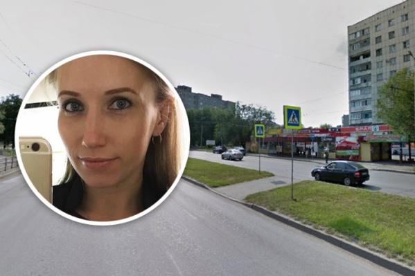 Таксист сбил 30-летнюю Елену Шаламову на аварийном переходе в Ленинском районе Челябинска