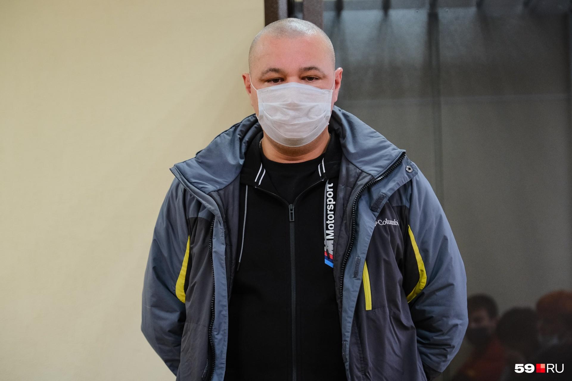 Ринат Ситдиков на оглашении приговора в суде Кизела