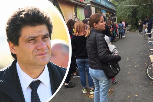 Мэр Екатеринбурга привлек внимание к очередям главу горздрава