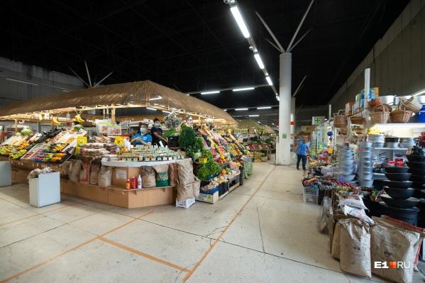 На рынке есть всё, чтобы составить праздничный или непраздничный стол