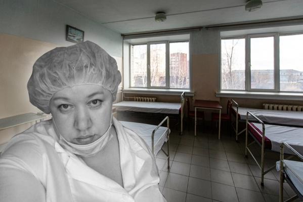 """Женщина работала медсестрой в ГКБ <nobr class=""""_"""">№ 11</nobr> — с апреля это учреждение функционирует как ковидный госпиталь"""