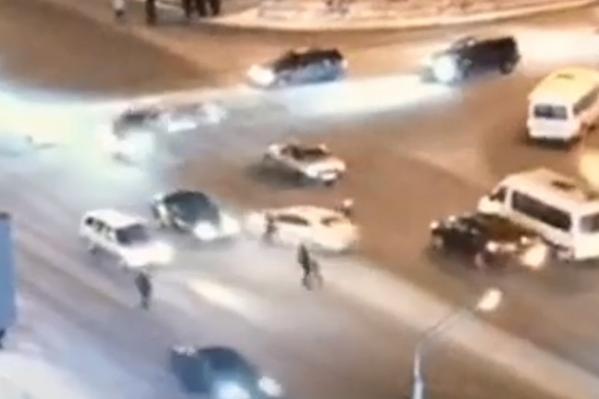 Пешеходы находились в шаге от гибели