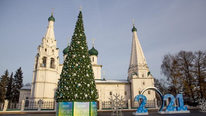 В Ярославле на Новый год перекроют Советскую площадь
