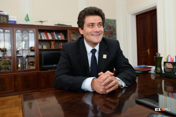 Александр Высокинский принял приглашение Евгения Куйвашева стать первым вице-губернатором Свердловской области
