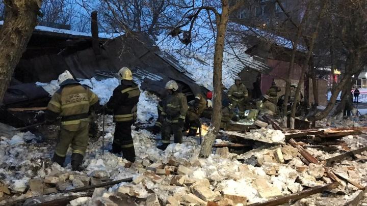 Появилось видео с моментом обрушения здания на Маркса