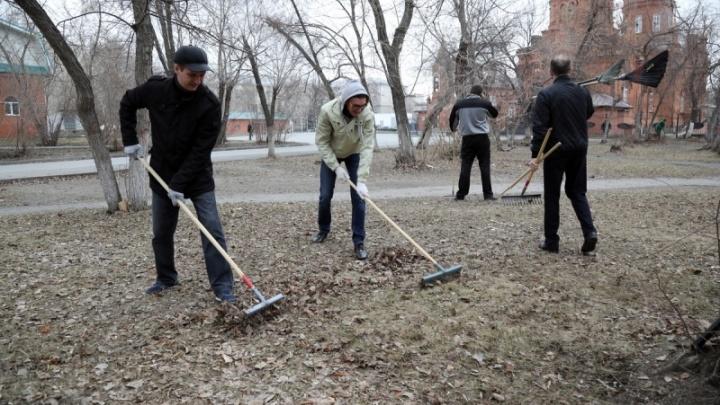 Шуховский полигон будет бесплатно принимать мусор, собранный курганцами на субботниках