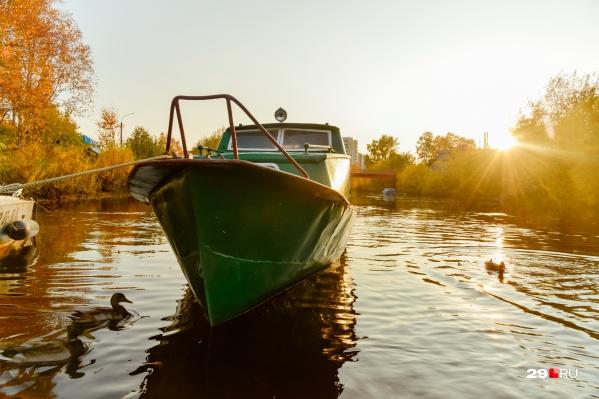 Начало октября в Архангельске выдалось очень красивым