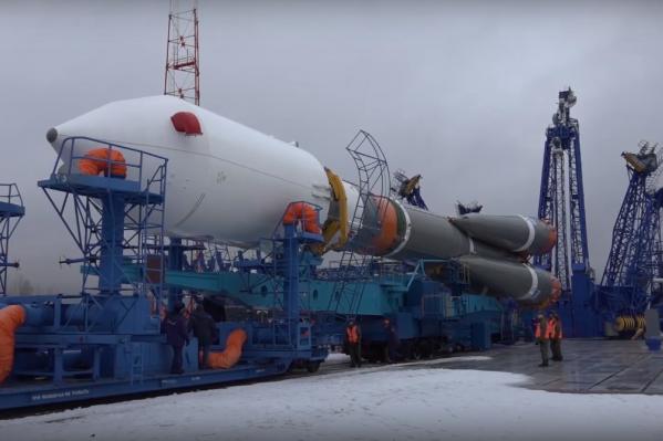Ракета стартовалав 21:28 по московскому времени