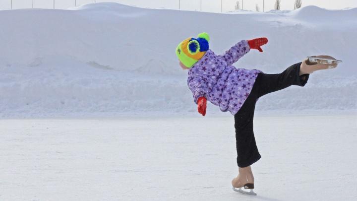В Уфе откроют 16 ледовых катков и 47хоккейных коробок