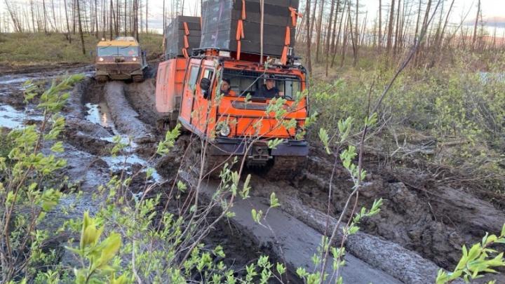 На ликвидацию разлива топлива в Норильск направили арктический отряд